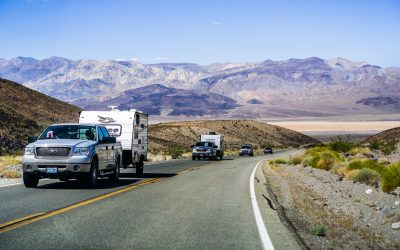 Tips for Driving While Towing a Travel Trailer