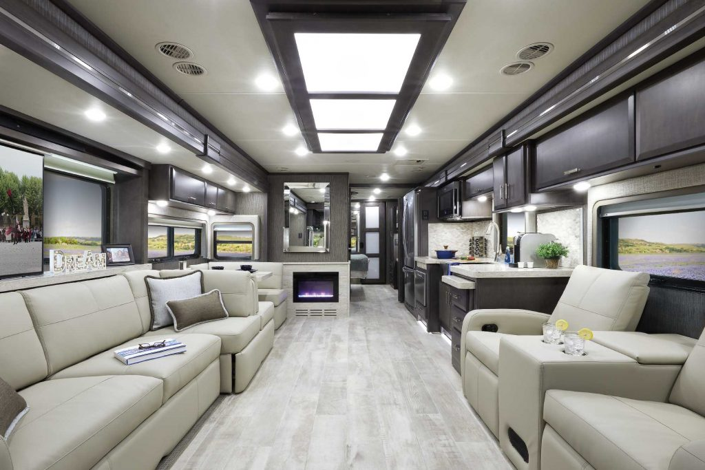 Luxury Class A RVs - Thor Tuscany interior