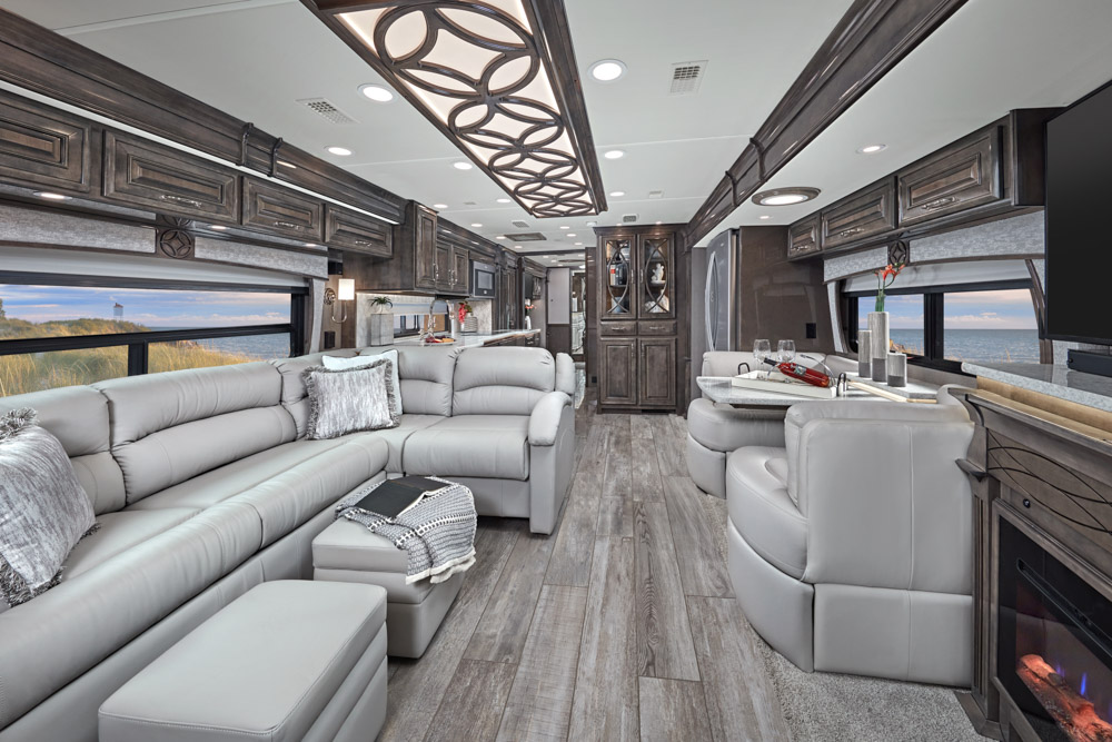 Luxury Class A RVs Entegra Cornerstone