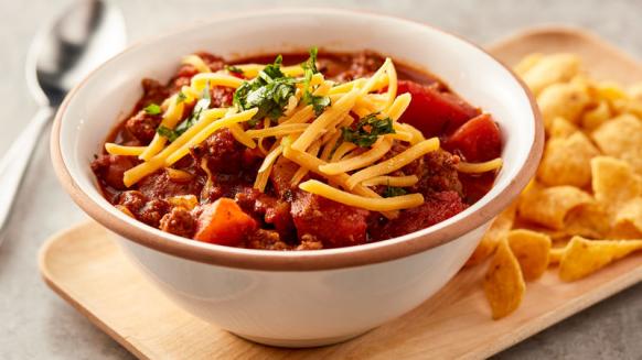 RV friendly slow cooker recipes - chili