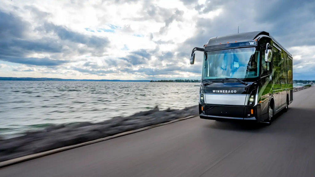Luxury Class A RVs - Winnebago Journey Exterior