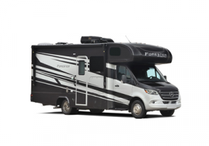 Class C RVs - Forest River Forester stock photo